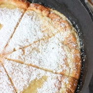 Oven-Baked Coconut Almond Pancake