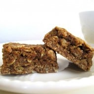 Oatmeal Maple Bars with Pecan Graham Crust
