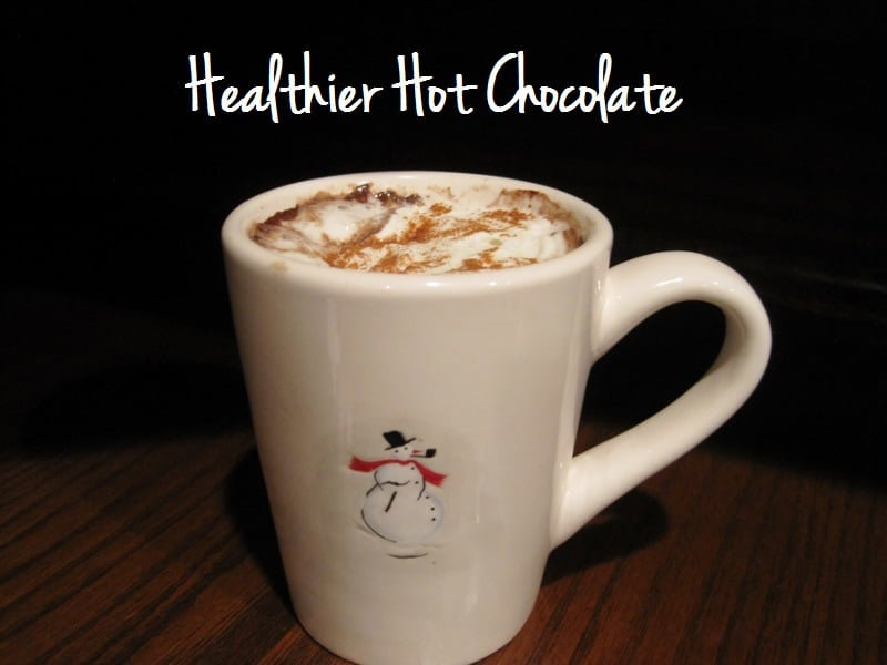 Healthier Hot Chocolate | My Sequined Life