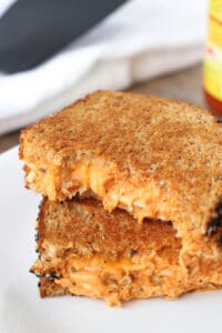 Buffalo Chicken Grilled Cheese | mysequinedlife.com