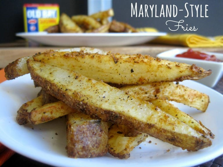 Baked Maryland Style Fries