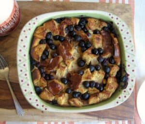 Blueberry Chai French Toast