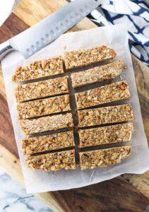 coconut quinoa granola bars