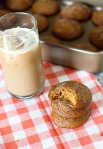 Soft Gingersnap Muffin Tops | mysequinedlife.com