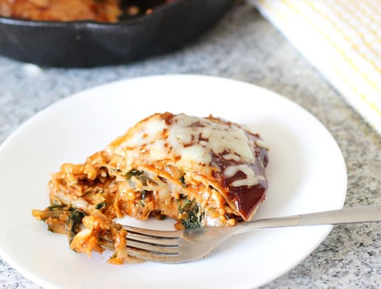 BBQ Kale Tempeh Pie | www.mysequinedlife.com