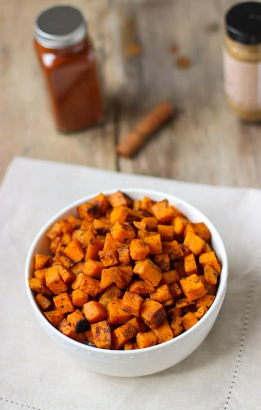 Oven Roasted Sweet Potatoes | mysequinedlife.com