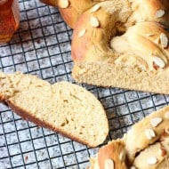 One-Hour Braided Honey Whole Wheat Bread
