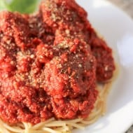Hearty Marinara Sauce and Meatballs