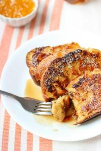 Honey Orange Whole Wheat French Toast | www.mysequinedlife.com