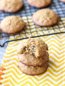 Loaded Oatmeal Cookies | www.mysequinedlife.com