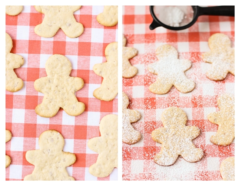 These healthier almond sugar cookies are light and super satisfying! www.mysequinedlife.com