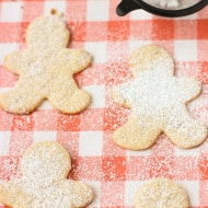Healthier Almond Sugar Cookies