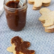 Vanilla Gingersnap Homemade Cookie Butter