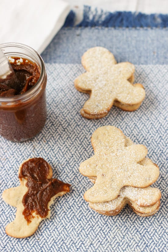 Vanilla Gingersnap Homemade Cookie Butter | www.mysequinedlife.com