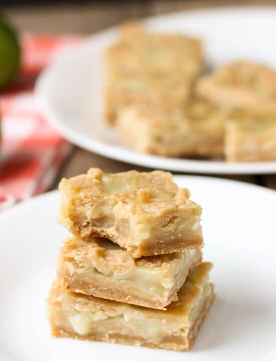 Coconut Lime Curd Bars