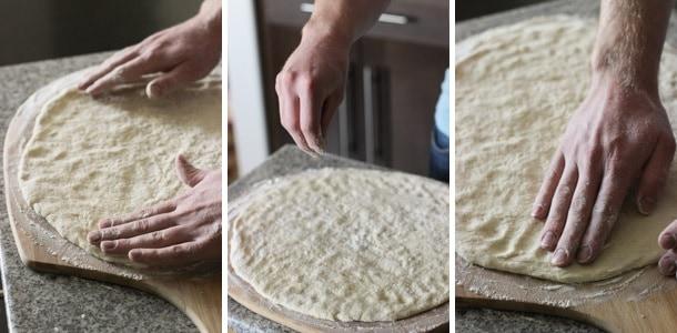Making pizza dough | mysequinedlife.com