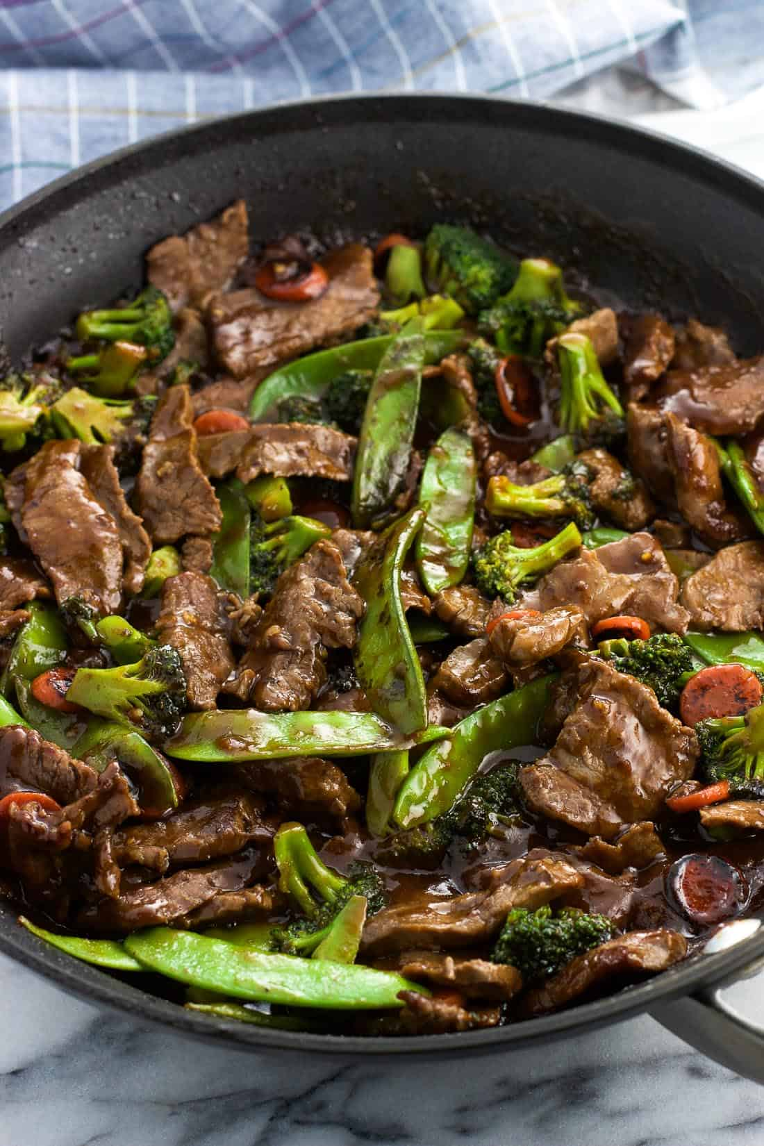 Balsamic Peanut Beef Stir Fry Recipe