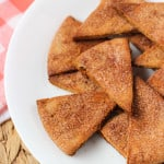 Homemade Cinnamon Sugar Pita Chips | mysequinedlife.com