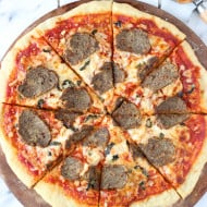 Meatball Parm Pizza
