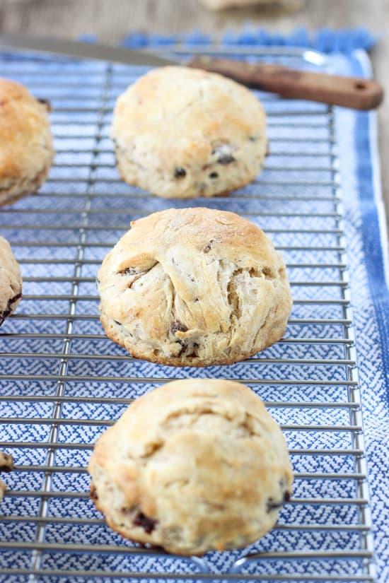 Cinnamon Raisin Biscuits   mysequinedlife.com