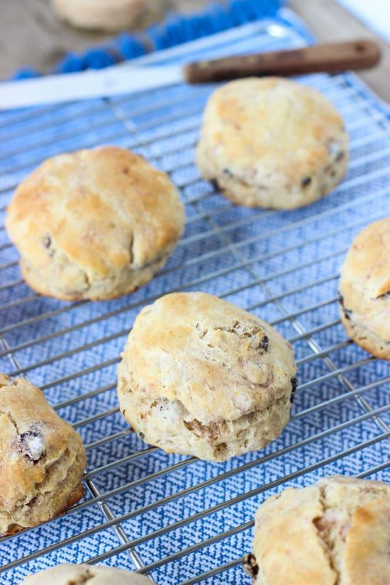Cinnamon Raisin Biscuits | mysequinedlife.com