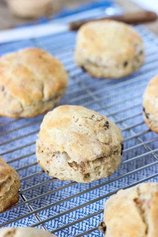 Cinnamon Raisin Biscuits | mysequinedlife.com