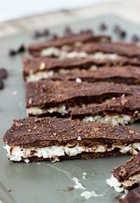 Almond Joy Bark | mysequinedlife.com
