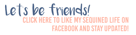 My Sequined Life Facebook Graphic