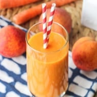 Power Peach Mango Smoothie