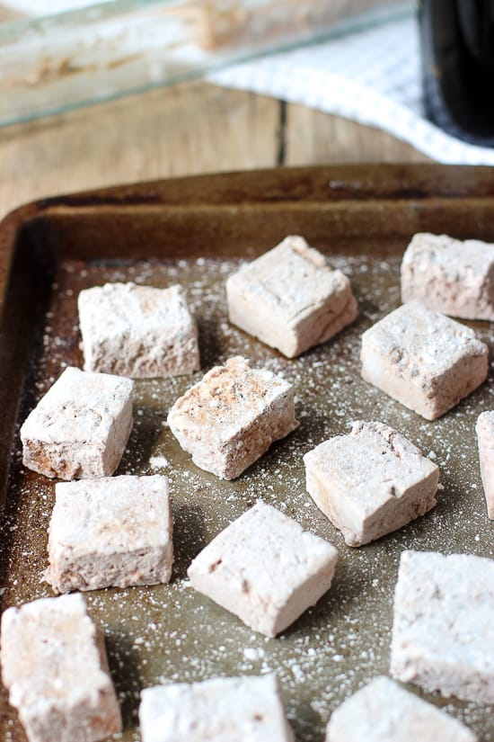 Chocolate Irish Cream Marshmallows | mysequinedlife.com