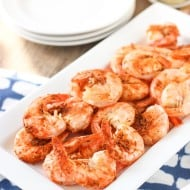 Easy Peel and Eat Old Bay Shrimp