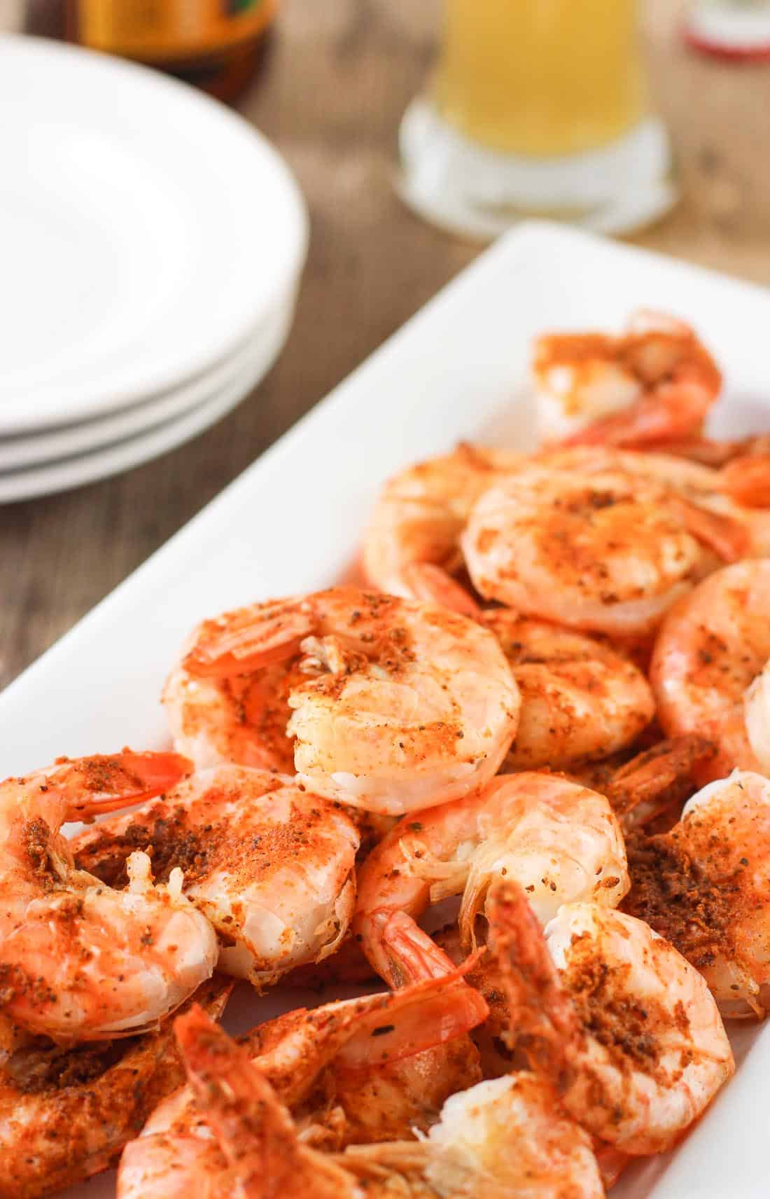 Easy Peel and Eat Old Bay Shrimp | mysequinedlife.com