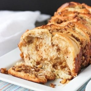 Maple Walnut Pull-Apart Bread