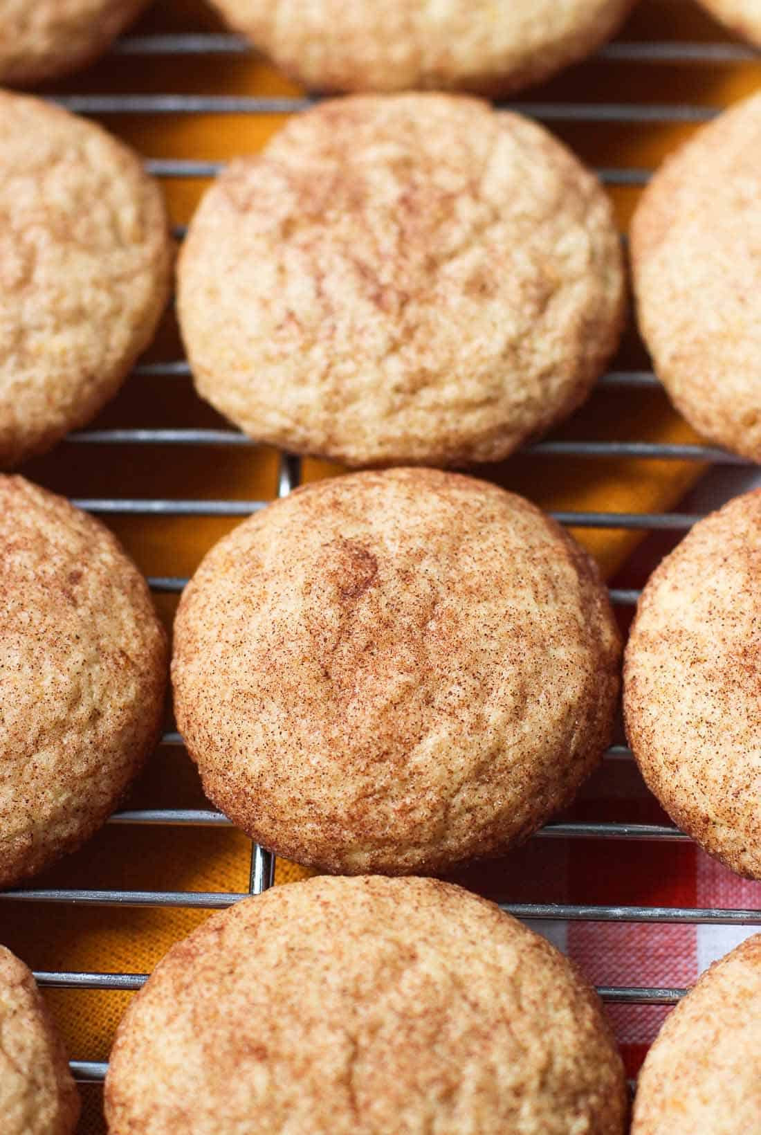 Orange Ginger Snickerdoodles | mysequinedlife.com
