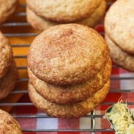 Orange Ginger Snickerdoodles