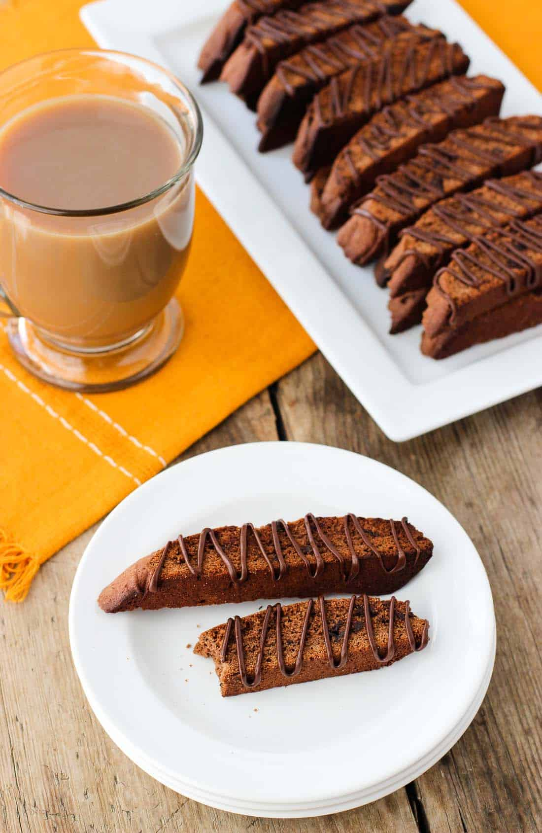 Triple Chocolate Biscotti | mysequinedlife.com