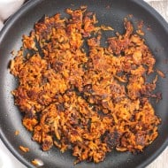 Spiced Sweet Potato Hash Browns (two ways!)