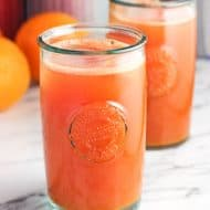 Watermelon Orange Ginger Turmeric Juice