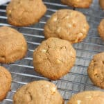 Maple nut almond butter cookies are flourless, lightly sweetened, and chock full of maple flavor! A variety of chopped nuts are added to the batter for a simple and richly flavored, six-ingredient cookie.