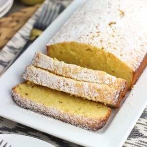 Spiced Orange Pound Cake