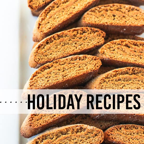 Holiday Recipes from My Sequined Life