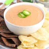 Creamy Jalapeno Salsa Bean Dip