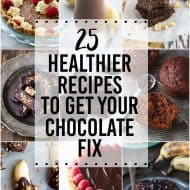 25 Healthier Chocolate Recipes