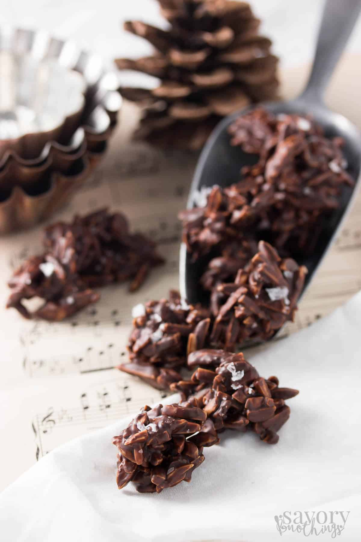 Orange and Sea Salt Dark Chocolate Covered Almonds - Savory Nothings
