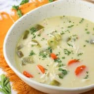 Slow Cooker Coconut Curry Chicken Soup