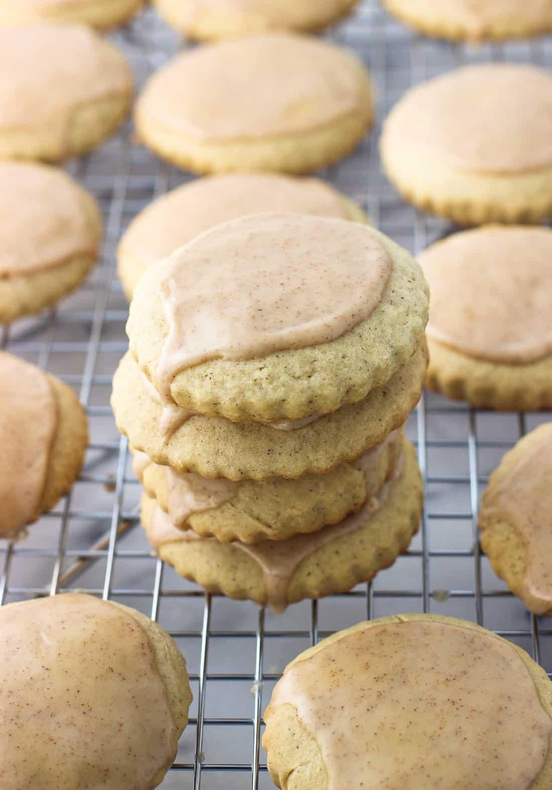 Cinnamon Maple Sugar Cookies