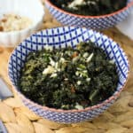 A few simple ingredients take Parmesan Marsala Sauteed Kale to the next level. Kale sautes in a Marsala wine and Parmesan mixture with a little bit of cream for a flavorful, ultra satisfying side dish.