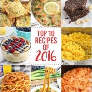 Top 10 Recipes of 2016!