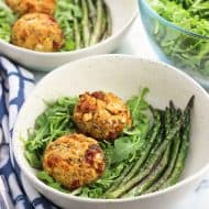 Sun-Dried Tomato and Pesto Tuna Cakes