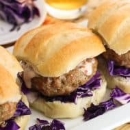 Dill and Ginger Pork Burgers